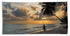 Bajan Fisherman Beach Towel