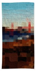 Baker Beach Beach Towel