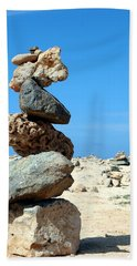 Balancing Act Beach Towel