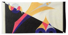 Balancing Act Beach Towel by Ron Davidson