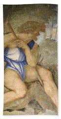 Baldassare Peruzzi 1481-1536. Italian Architect And Painter. Villa Farnesina. Polyphemus. Rome Beach Towel