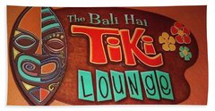 Bali Hai Tiki Lounge Pontchartrain Beach Beach Towel