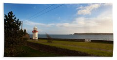Ballinacourty Lighthouse, Dungarvan Beach Towel