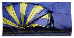 Beach Sheet featuring the photograph Balloon Fantasy 4 by Allen Beatty