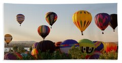 Balloon Festival Beach Sheet