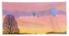 Balloon Race Beach Towel