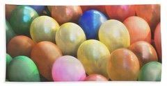 Balloons Beach Sheet by Cindy Garber Iverson