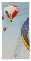 Balloons High In The Sky Beach Sheet by Belinda Lee