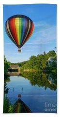 Balloons Over Quechee Vermont Beach Towel