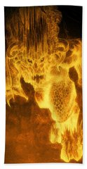 Balrog Of Morgoth Beach Towel