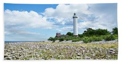 Baltic Sea Lighthouse Beach Towel