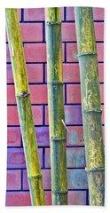 Bamboo And Brick Beach Sheet