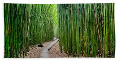Bamboo Brilliance Beach Towel