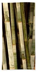 Beach Towel featuring the photograph Bamboo by Gary Smith