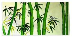 Bamboos Beach Towel