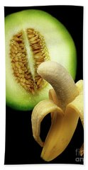 Banana And Honeydew Beach Towel