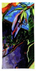 Banana Blossom  Beach Towel