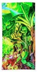 Bananas In Lahaina Maui Beach Sheet