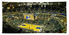 Bankers Life Fieldhouse - Home Of The Indiana Pacers Beach Towel