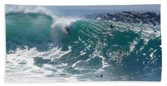 Banzai Beach Towel by Joe Schofield
