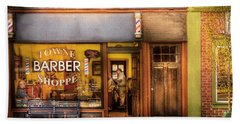 Barber - Towne Barber Shop Beach Sheet