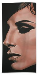Barbra Streisand Beach Towel by Paul Meijering