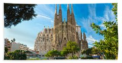 Barcelona - La Sagrada Familia Beach Towel