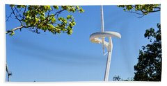 Barcelona Tv Tower/sun Dial Beach Towel
