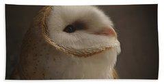 Barn Owl 4 Beach Towel