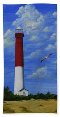 Barnegat Lighthouse Beach Towel