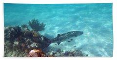 Beach Towel featuring the photograph Barracuda by Eti Reid