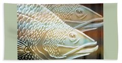 Beach Towel featuring the photograph Barramundi by Holly Kempe