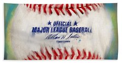 Baseball Iv Beach Towel