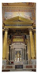 Basilica Of St John Lateran  Beach Towel
