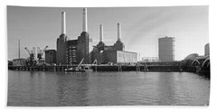 Battersea Power Station Beach Towel