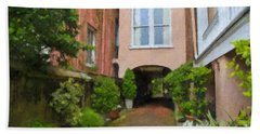 Battery Carriage House Inn Alley Beach Towel