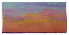 Bay Sunset Beach Sheet by Gail Kent