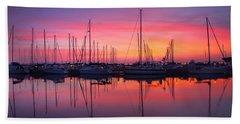 Bayfield Wisconsin Magical Morning Sunrise Beach Sheet