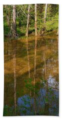 Bayou Reflections Beach Towel