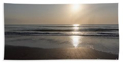Beach At Sunrise Beach Towel