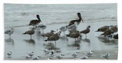 Beach Birds Beach Towel