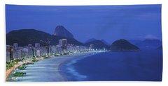 Beach, Copacabana, Rio De Janeiro Beach Towel