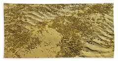 Beach Desertscape Beach Towel by Jocelyn Kahawai