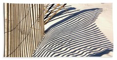 Beach Fence Beach Towel
