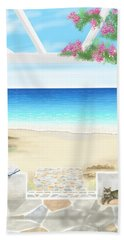 Beach House Beach Towel