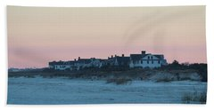 Beach Houses Beach Towel by Cynthia Guinn