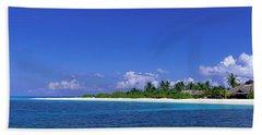 Beach Scene Maldives Beach Towel