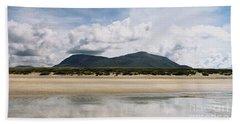 Beach Sky And Mountains Beach Towel