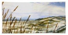 Beach Watercolor 3-19-12 Julianne Felton Beach Towel