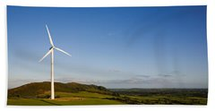 Beallough Windfarm, Above Portlaw Beach Towel